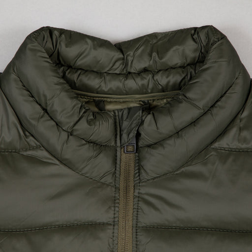 JACK & JONES Zip Through Puffer Jacket in ROSIN