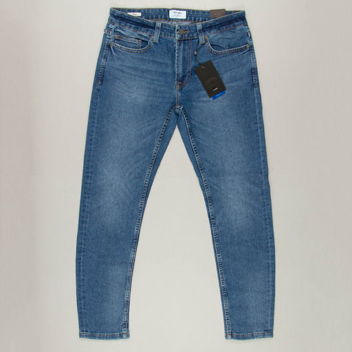 Warp Skinny Jeans in BLUE DENIM