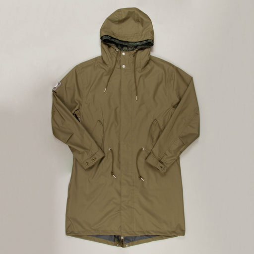 Seam Sealed Technical Parka in GREEN