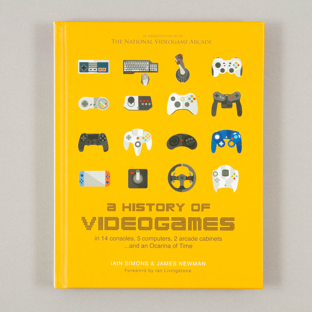A History of Videogames by Iain Simons & James NewmanBOOKSPEED - CACTWS