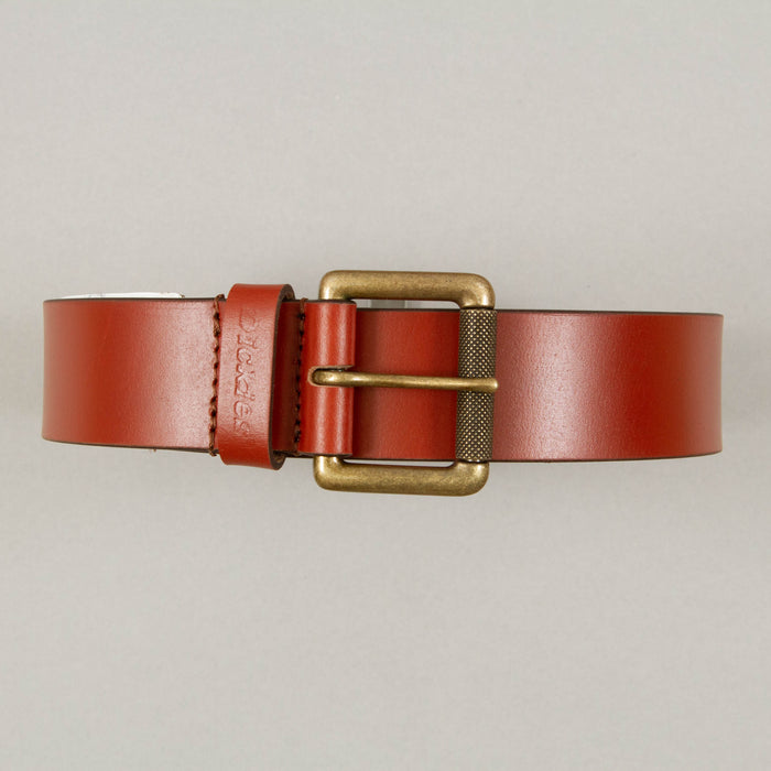 South Shore Leather Belt in BROWNDICKIES - CACTWS