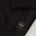 ONLY & SONS Basic Sweat Zip Hood Unbrushed in BLACK