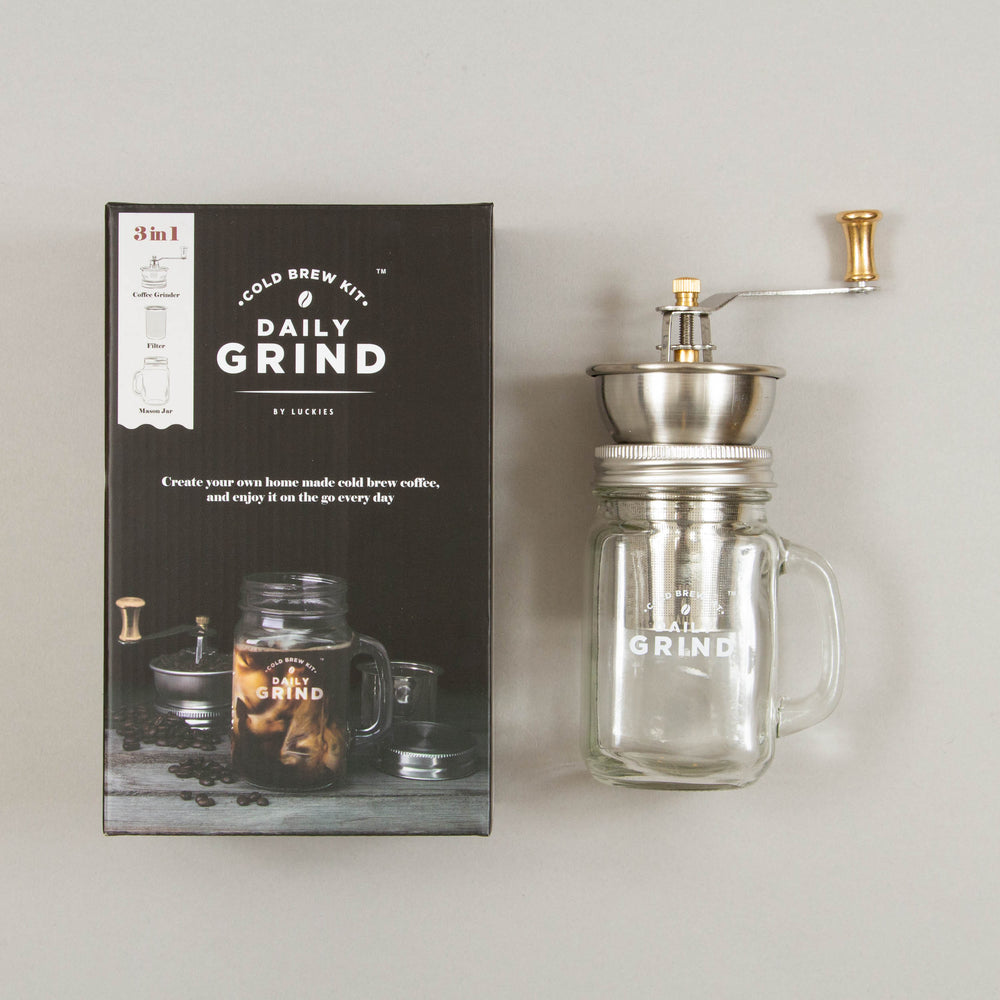 Daily Grind Cold Brew Coffee SetLUCKIES - CACTWS