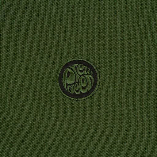 Heavy Weight Pique Polo Shirt in GREENPRETTY GREEN - CACTWS