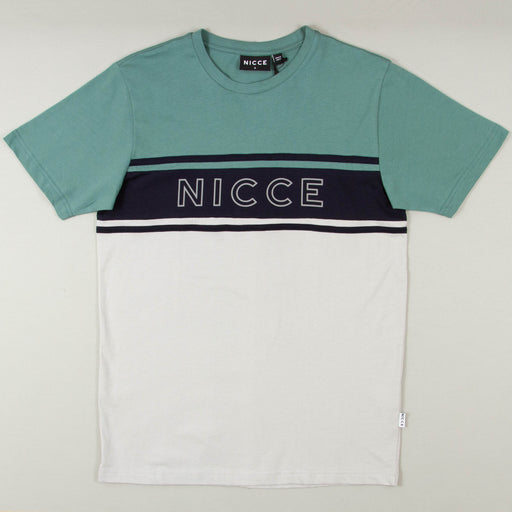 Panel T-Shirt in NORTH ATLANTIC & STONE GREYNICCE - CACTWS