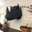 PAPERCRAFT-WORLD RHINO Head 3D Wall Art in GREY
