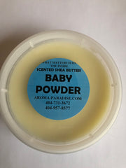 Baby Powder Scented Shea Butter