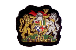 UK Blazer Badge Crest by Elizabeth Parker