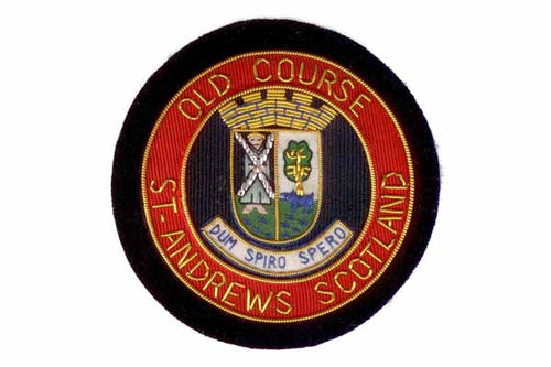 St Andrew's Golf Blazer Crest Badge by Elizabeth Parker