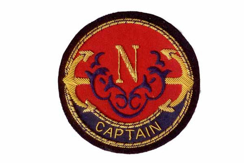 Captain Blazer Crest Badge By Elizabeth Parker