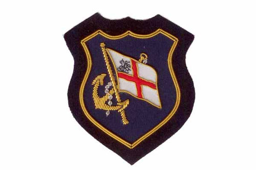 Nautical English Blazer Badge Crest by Elizabeth Parker