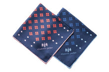 Load image into Gallery viewer, Diamonds For Ever Silk Pocket Square Range by Elizabeth Parker