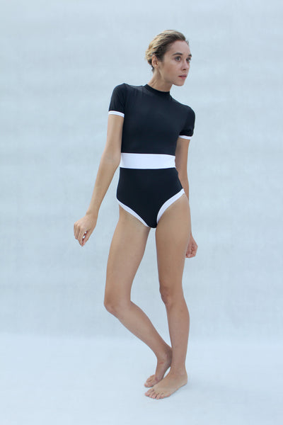 Reef Short-Sleeve Surfing Swimsuit