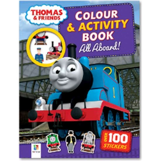 Thomas Colour & Activity Book