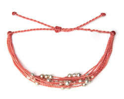 Bracelet - Beads / Coral