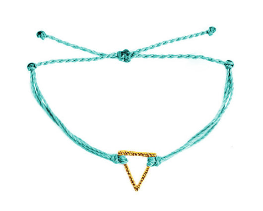Bracelet - Triangle / Teal