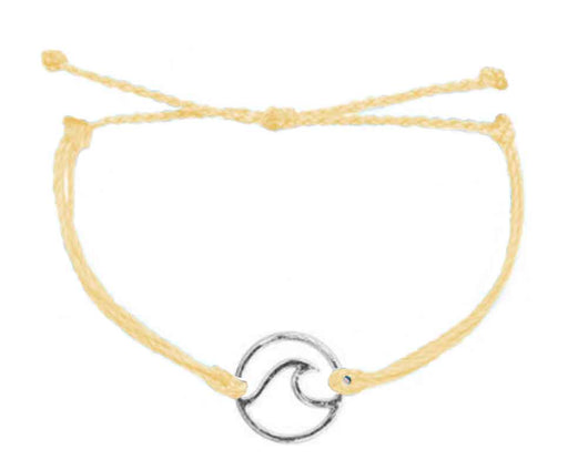 Bracelet - Wave / Yellow