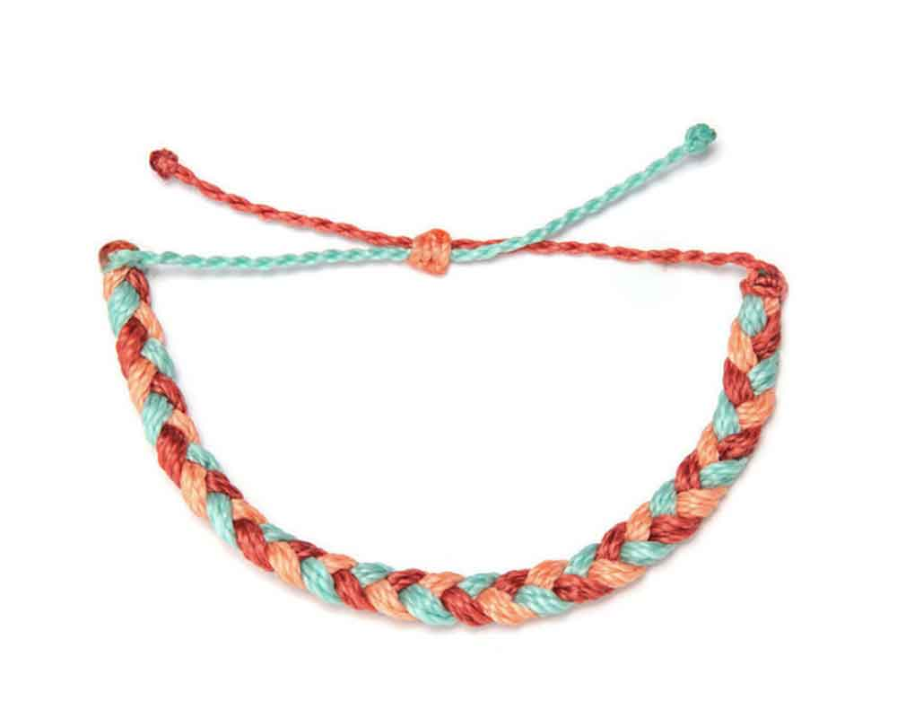 Bracelet - Braided Summer Time