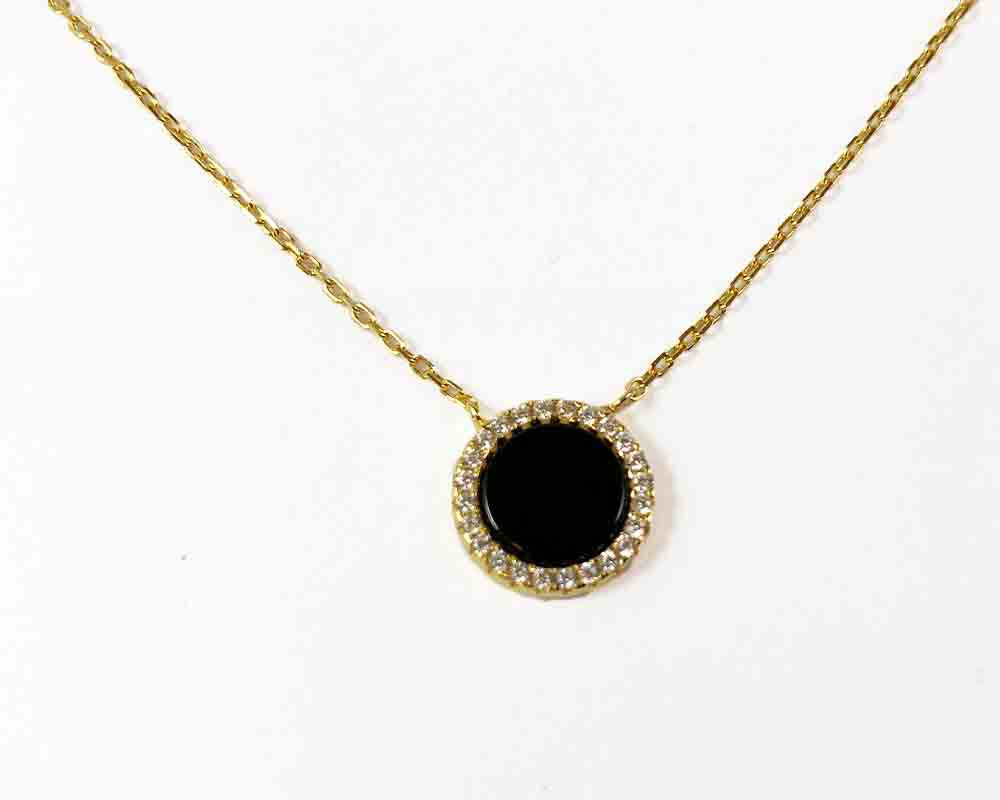 Onix Zirconia Necklace