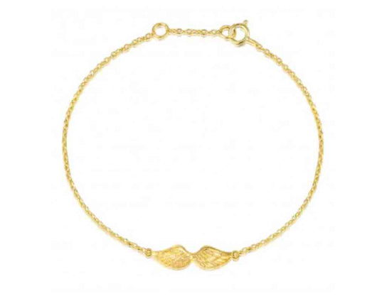 Wings Bracelet Gold