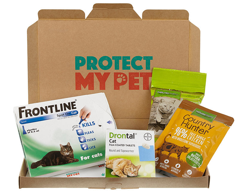 Cat Box Plus with Frontline