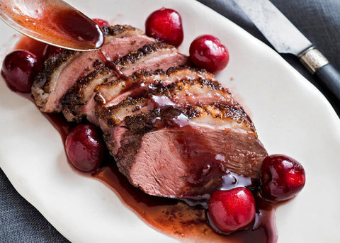 Male Fertility Recipe Duck Breasts With Cherry Jus