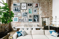 7 Gorgeous Gallery Walls That Will Inspire You to Create Your Own-Brush Point Studio