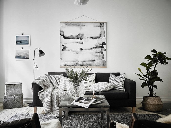 warm and cosy monochromatic apartment