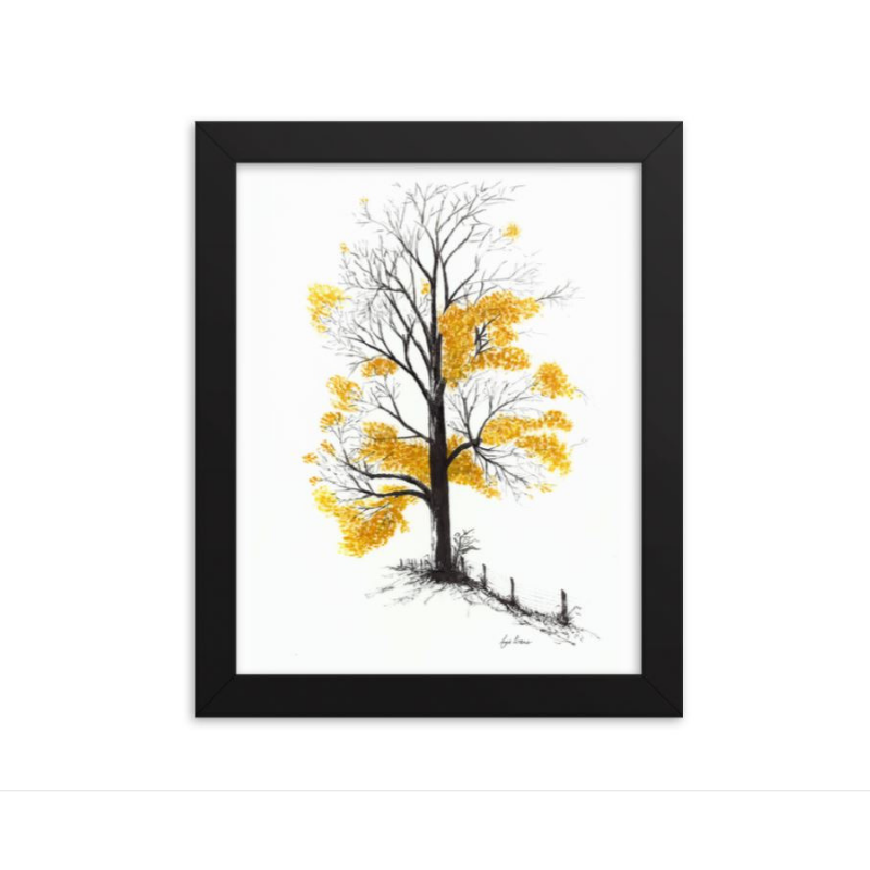 'Winter is coming!' Art Print