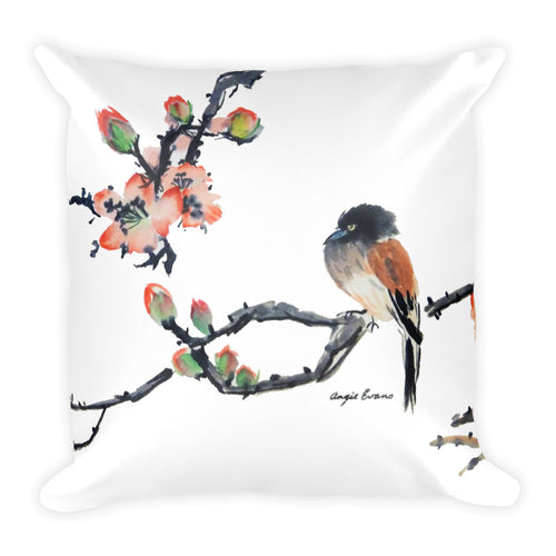 Spring Blooms Decorative Pillow