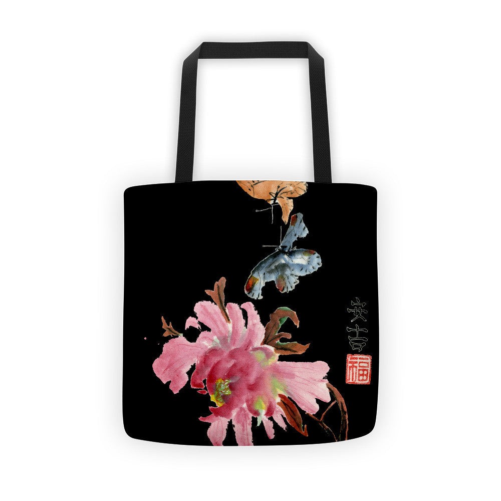 The Dance Black Tote Bag