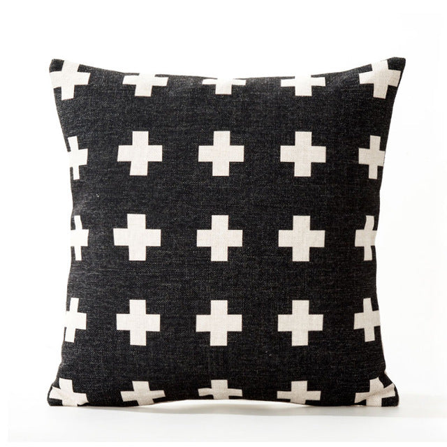 Nordic Cushion Cover-Pillow-Brush Point Studio