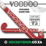 Voodoo 2017 Paradox Code Red V3 Hockey Stick