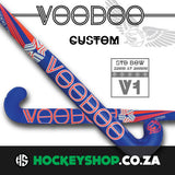 Voodoo 2017 Custom V1 Standard Bow Hockey Stick