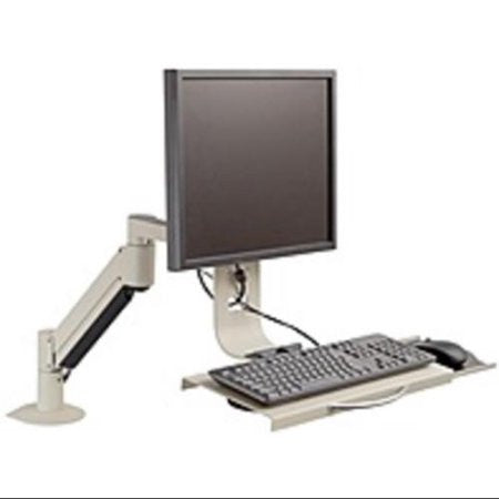 7509 Data Entry Monitor Arm and Flip Keyboard