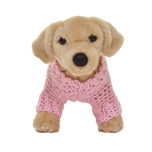 Knit Heart Dog Sweater