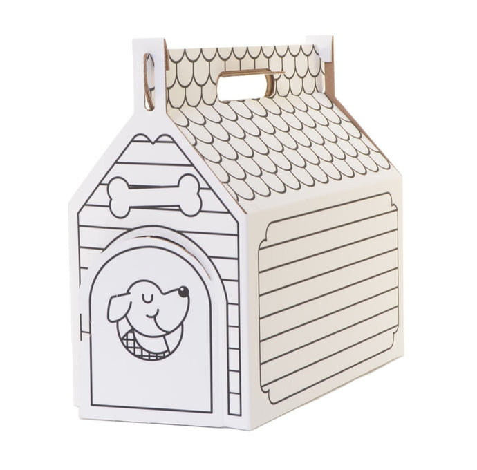 Colorable Dog House