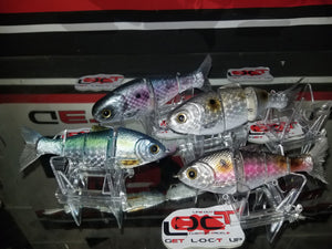 Check out the new holographics on those big baits.