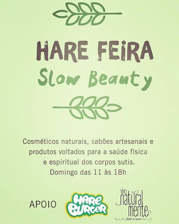Feira Slow Beauty no Leblon