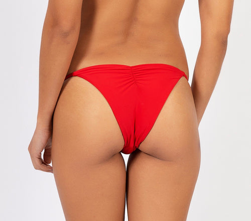 Bottom Isis Red Fever bikini V I Z Z U O Beachwear