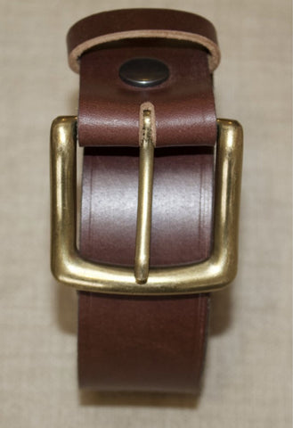 Birchwood Leather and Hawkdale 100% Full Grain and Heavy Duty Hide Leather Belts
