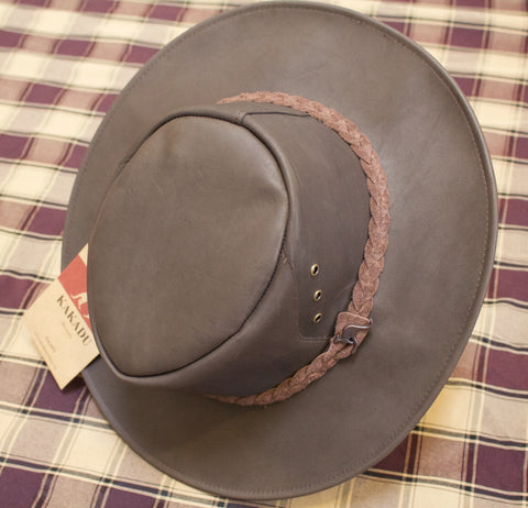 Eureka and Kakadu Leather Hats and Trappers