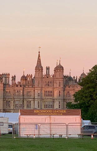 Birchwood Leather Marquee at Burghley House and Gardens Game and Country Fair with Living Heritage Events