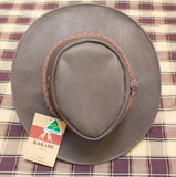 Kangaroo Leather Australian Bush Hat - Kakadu
