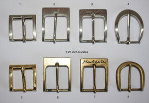 A selection of 1.25 inch buckles