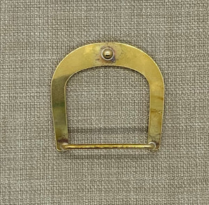 Birchwood Leather Solid Brass Buckle