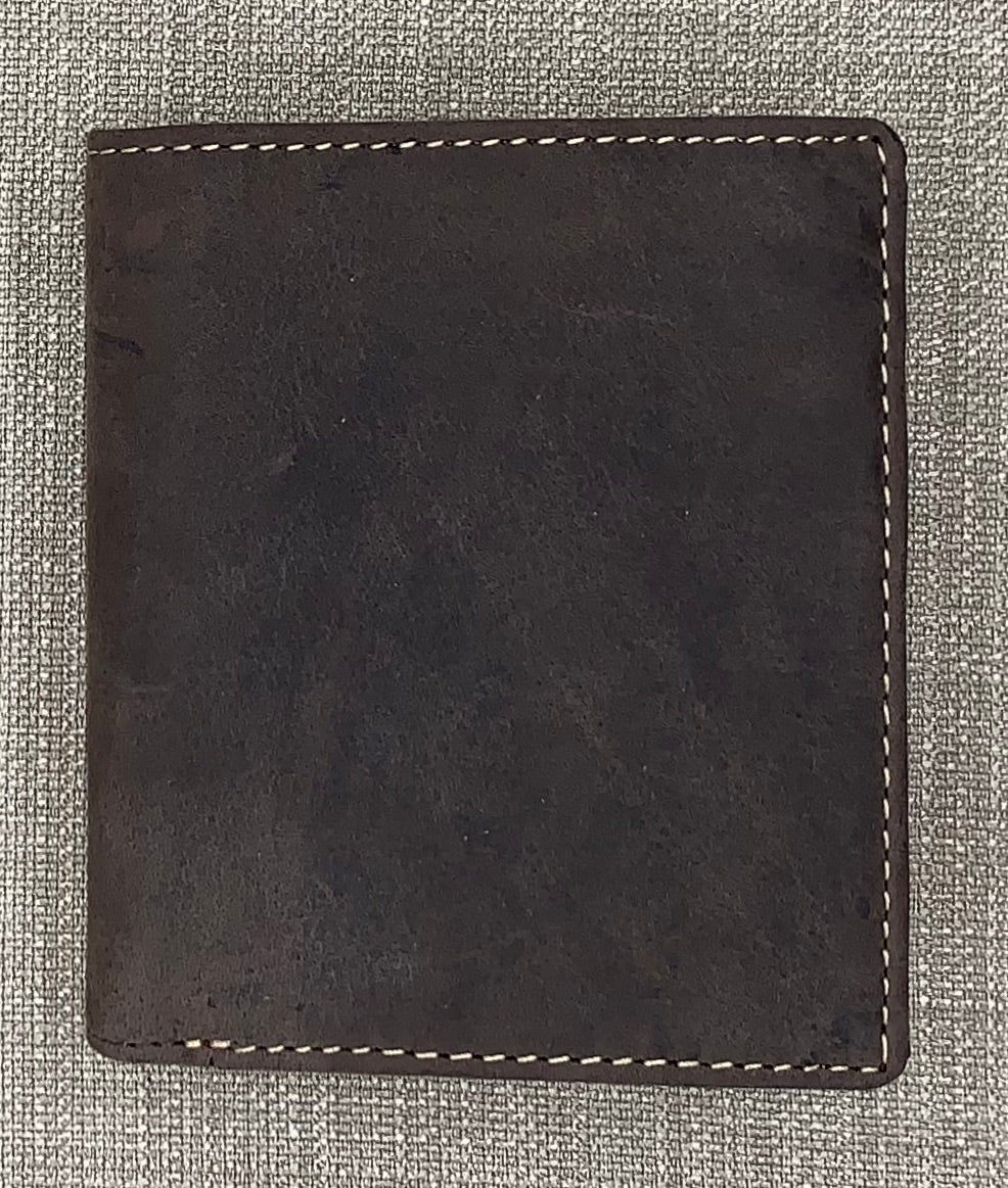 Visconti Gents Oil Brown Fold Out Leather Wallet