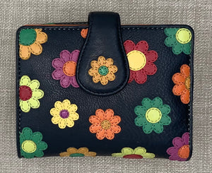 Visconti Ladies Daisy Leather Purse
