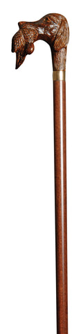 Hardwood Walking Stick with Gundog and Game Handle
