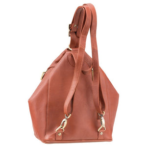 Visconti Ladies Brown Leather Backpack | Shoulder Bag